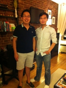 Henry & Mark - XS batch mates who took me out to my first night in NYC