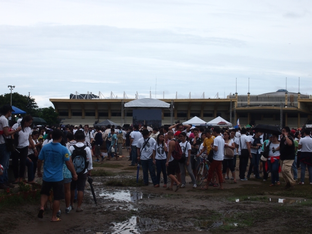 The muddy field