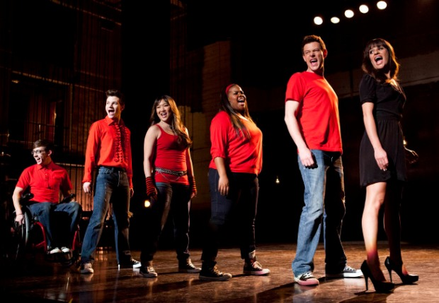 GLEE Season 4, Episode 19, Don't Stop Believing. Final performance of Cory Monteith